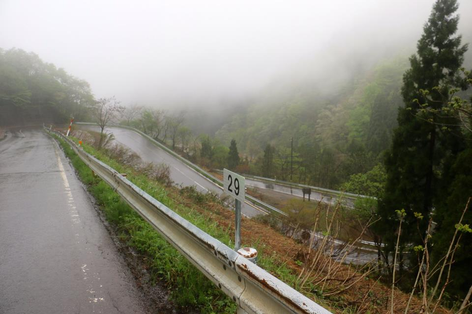 Cycling Japan's switchback mountain roads.