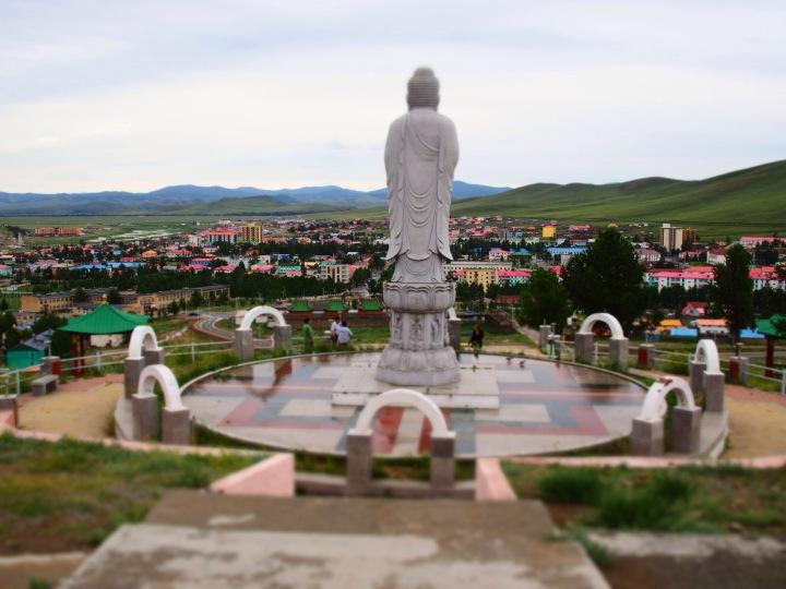 Tsetserleg, Mongolia.Crank and Cog cycle tour of Mongolia.