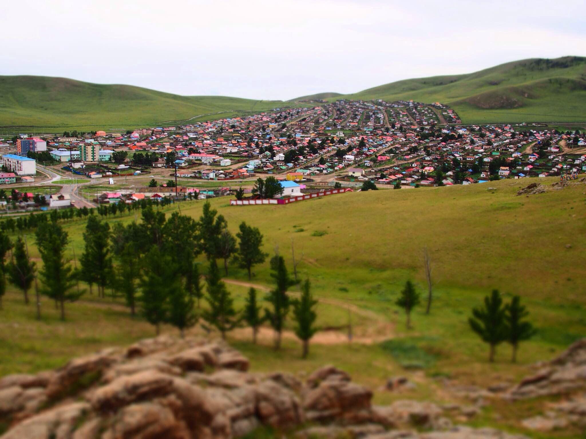 Tsetserleg in Mongolia