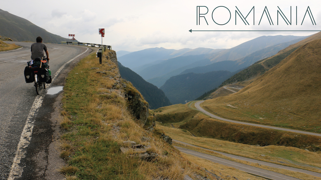 Cycling the Transfagarason, Romania.