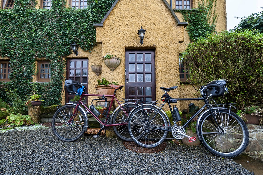 two bikes. cycling sligo.Local loops.One day cycle trips Ireland.