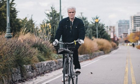 David Byrne cycling