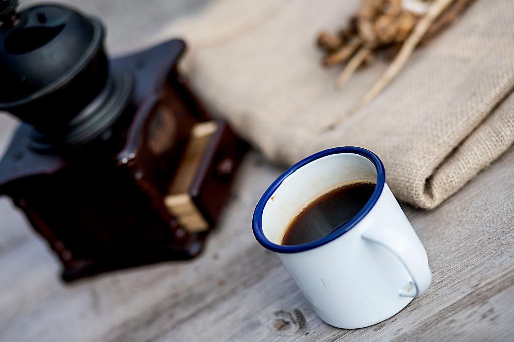 A mug of dandelion coffee.