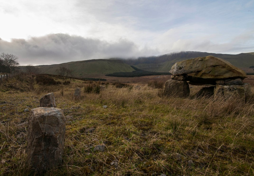 mini dolmens Gleniff, County Sligo, Ireland | Crank and Cog one day cycle loops in Ireland. Local Loops.