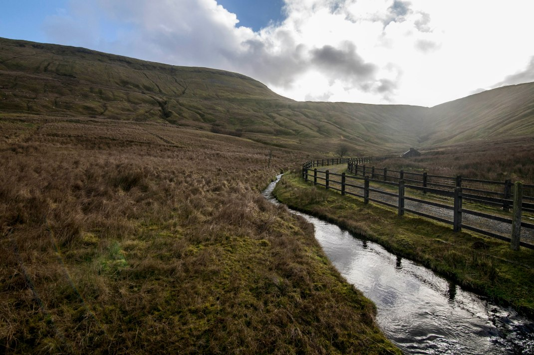 Mountain stream and path at Gleniff, County Sligo, Ireland | Crank and Cog one day cycle loops in Ireland. Local Loops.