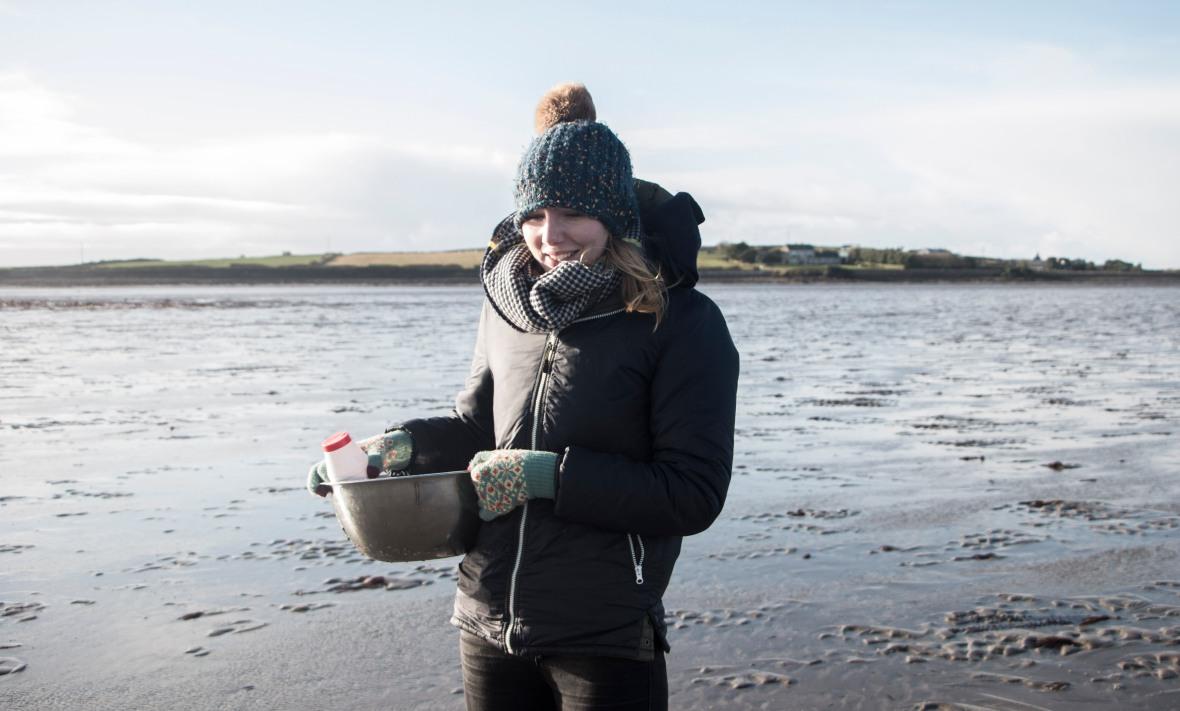 Razor Clam foraging on the Atlantic coast | Crank and Cog.