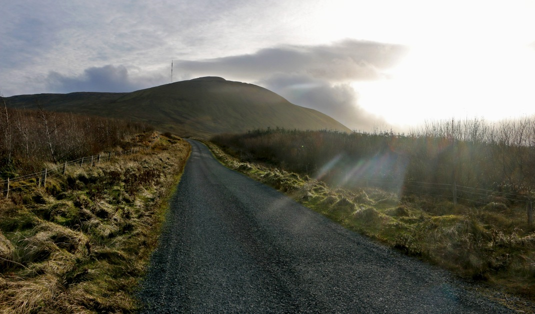 Truskmore mountain in Gleniff, County Sligo, Ireland | Crank and Cog one day cycle loops in Ireland. Local Loops.