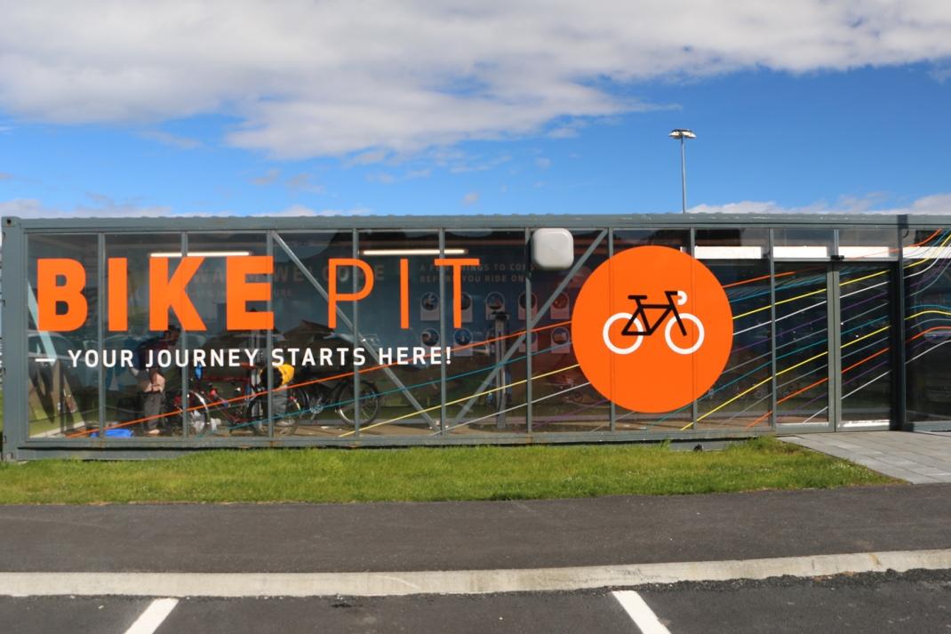 Airport bike pit | | Crank & Cog