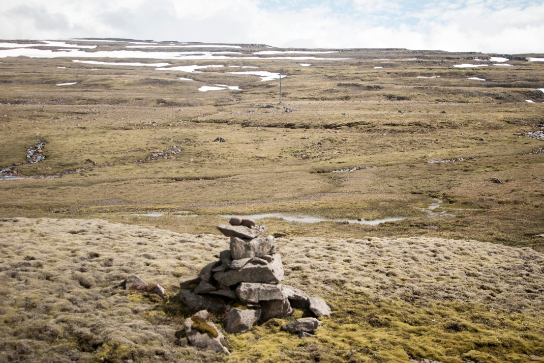 Icelandic cairns | Crank & Cog cycle tour of Iceland.