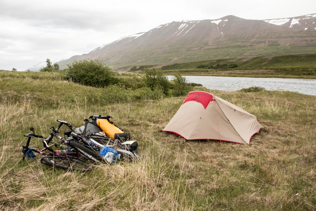 Camping in Iceland | Crank & Cog cycle tour of Iceland.