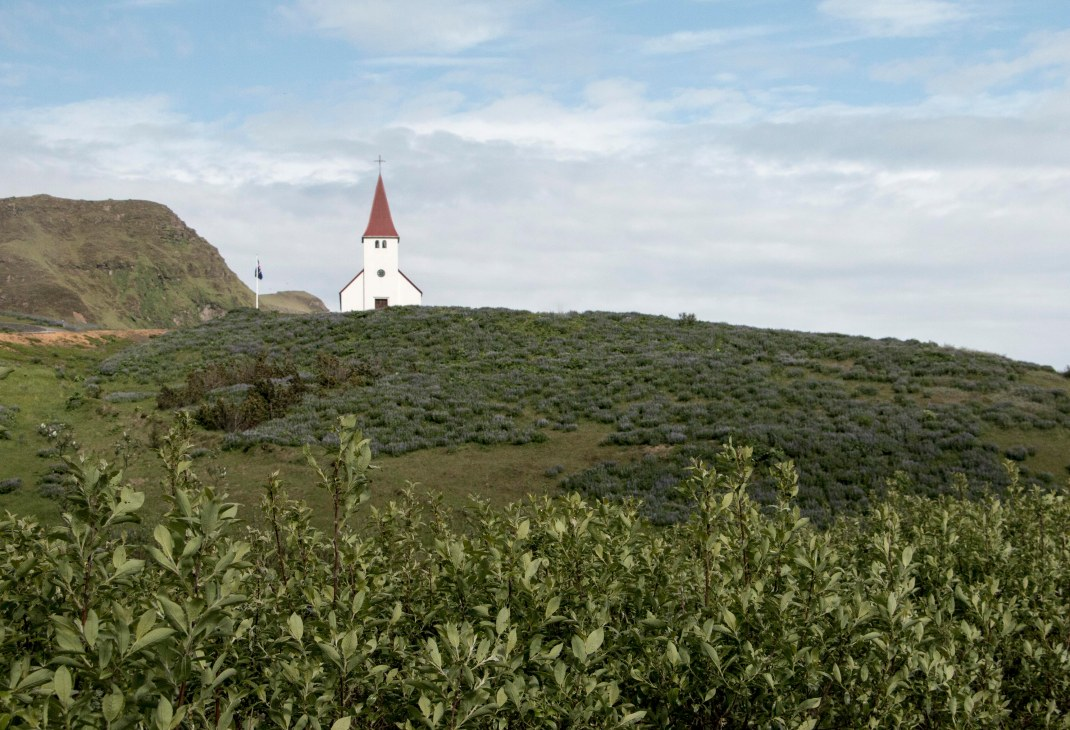 Icelandic church | Crank & Cog cycle tour of Iceland.