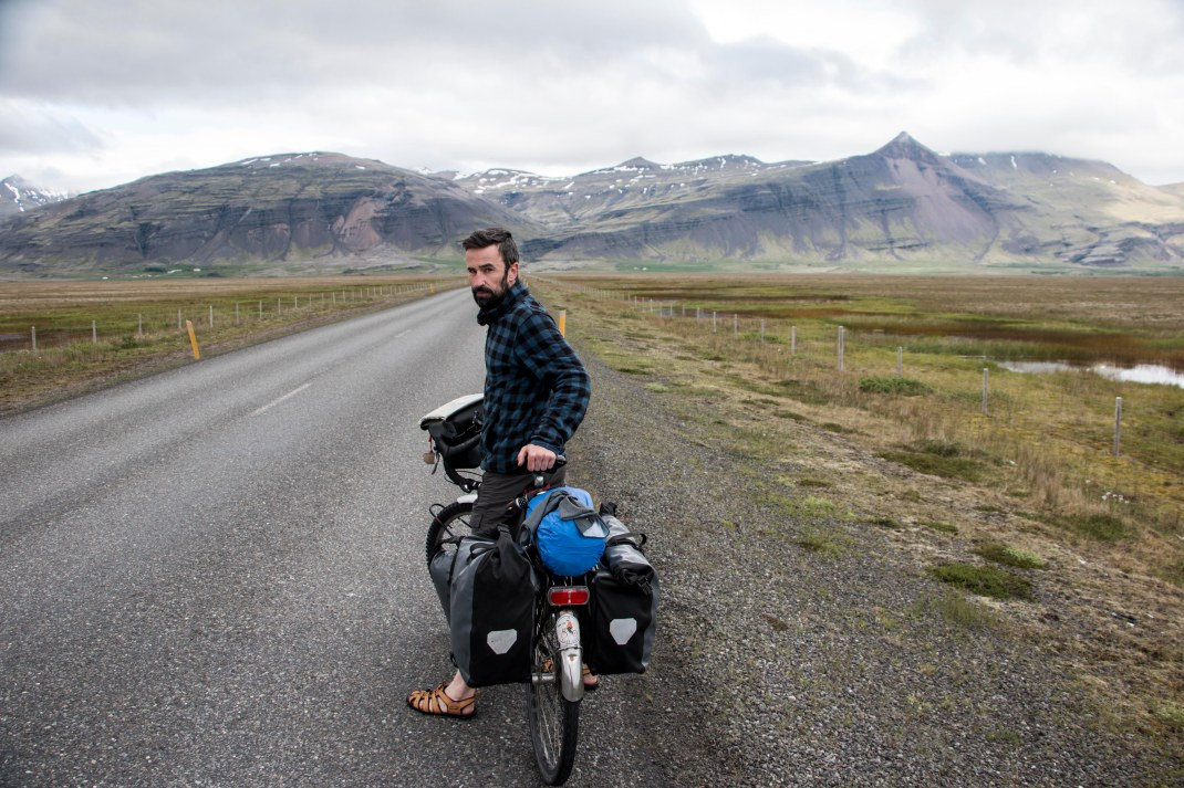Ciaran | Crank & Cog cycle tour of Iceland.