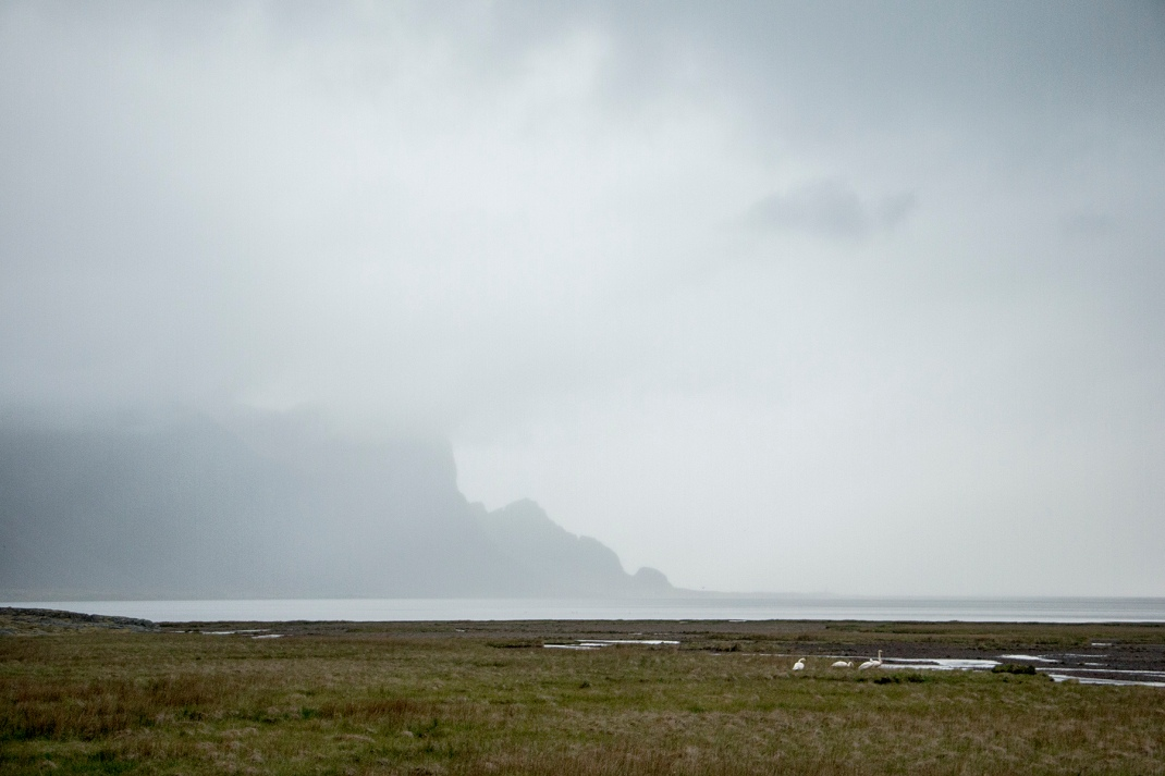 Misty fjord | Crank and Cog cycle tour of Iceland.