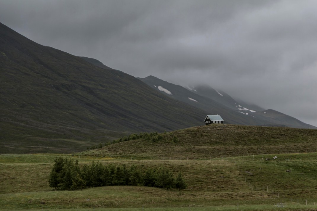 Country cottage amongst the hills of Iceland | Crank and Cog cycle tour of Iceland.