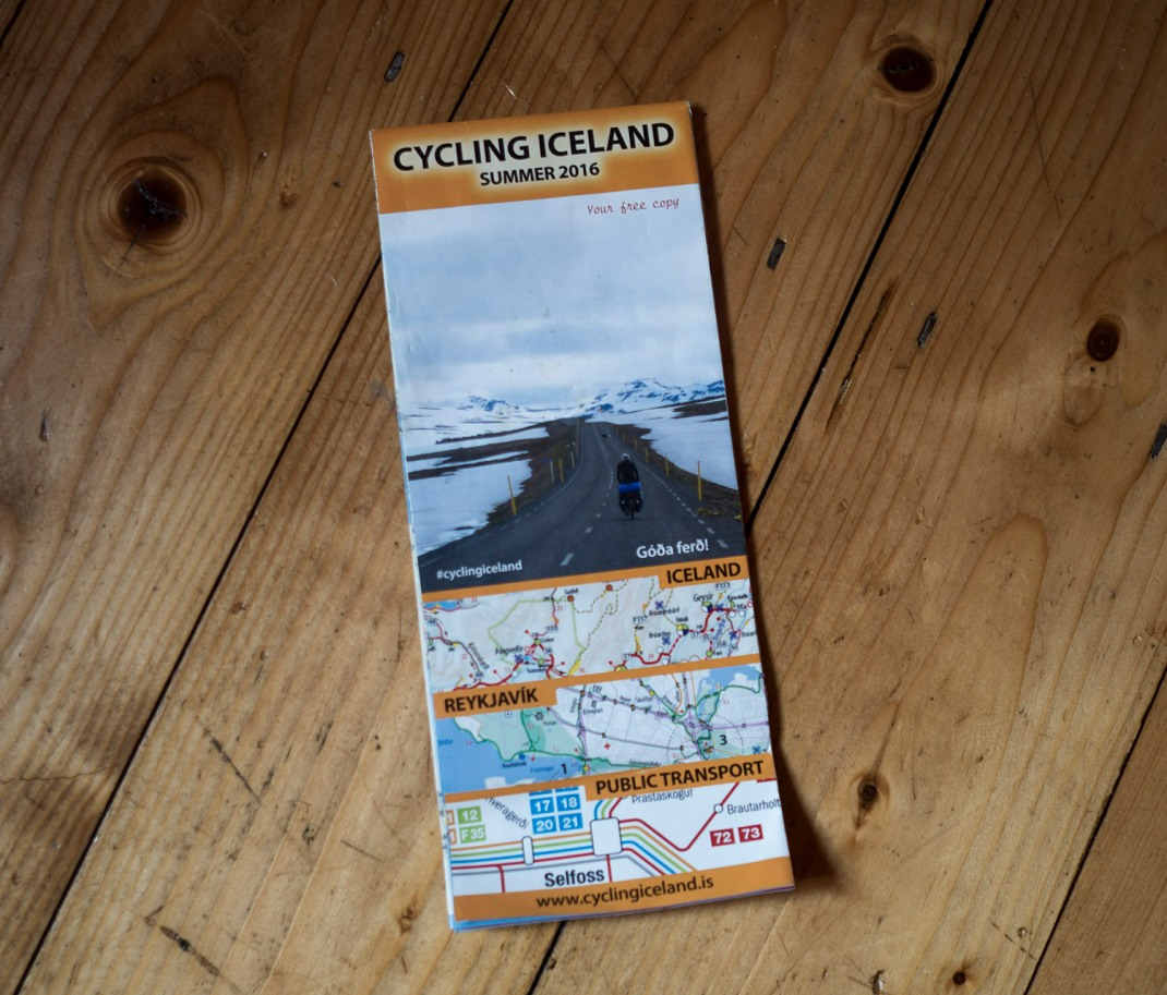 Cycling Iceland Map guide | Crank & Cog cycle tour of Iceland