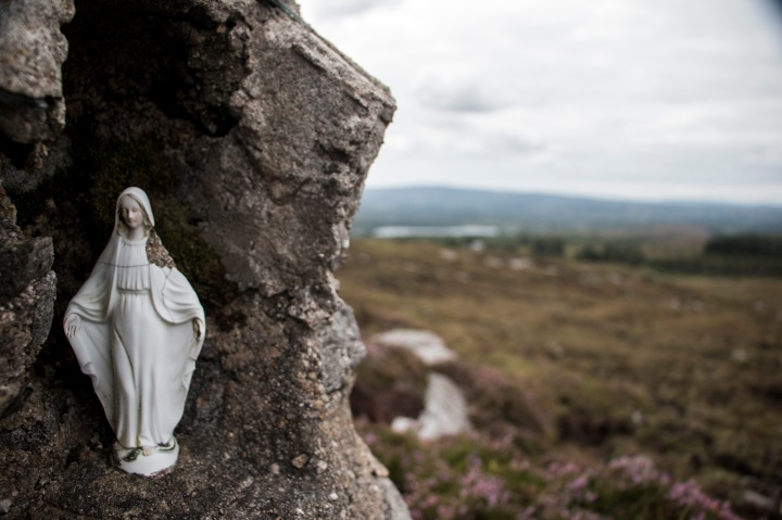 leitrim hills_mary statue
