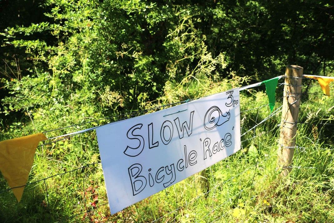 slow bike race