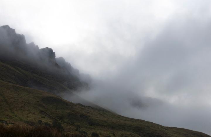 benbulben cliff misty