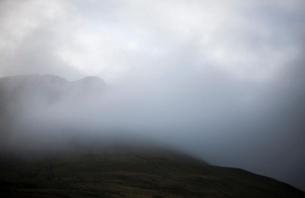 Misty benbulben
